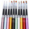 10pcs Nail Design Brush Manicure for Painting Brushes - COLORMIX