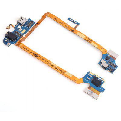 USB Connector Flex Cable Microphone for LG Optimus G2 D800