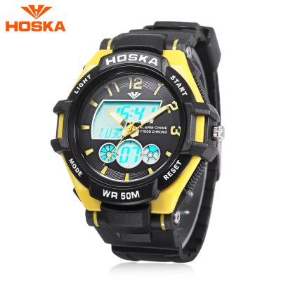 HOSKA HD027B Children Dual Movt Watch