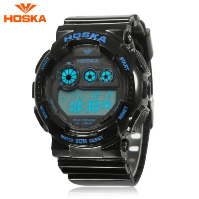 HOSKA H017B Children Digital Sports Watch