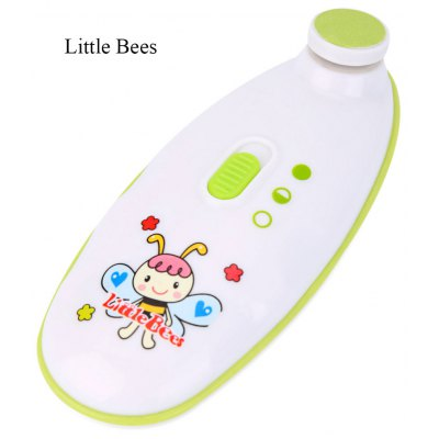 Little Bees Portable Baby Electric Nail Trimmer
