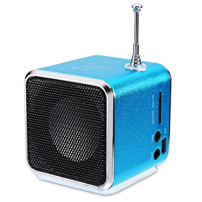 TD - V26 Digital LCD FM Sound Speaker
