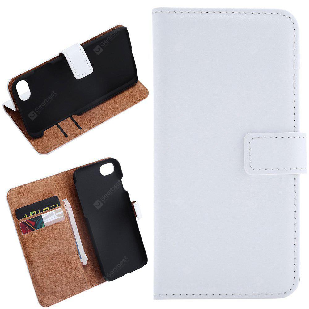 Simple Style Leather Wallet Protective Cover for iPhone 7 4.7 inch