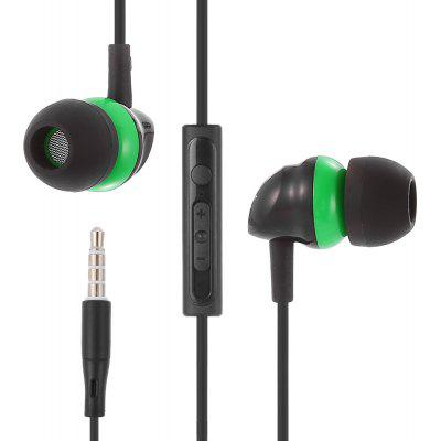 BYZ SE371 3.5MM Plug Stereo Music Earphones Headphones