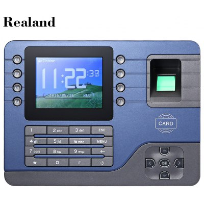 Realand  A - C091 Biometric Fingerprint Time Attendance Clock