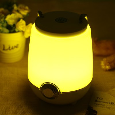 CBZ - 001 Portable Bluetooth 4.0 Speaker LED Music Lamp