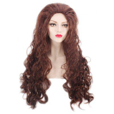 Girl Long Big Curly Wavy Wigs Synthetic Hair