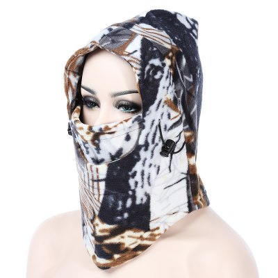 Thermal Camouflage Thickened Fleece Windproof Face MaskCycling Clothings<br>Thermal Camouflage Thickened Fleece Windproof Face Mask<br><br>Gender: Men,Women<br>Package Contents: 1 x Face Mask<br>Package Size(L x W x H): 28.00 x 20.00 x 2.00 cm / 11.02 x 7.87 x 0.79 inches<br>Package weight: 0.140 kg<br>Product weight: 0.115 kg