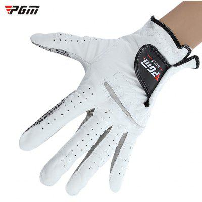 PGM Male Left Hand Soft Breathable Sheepskin Golf Glove