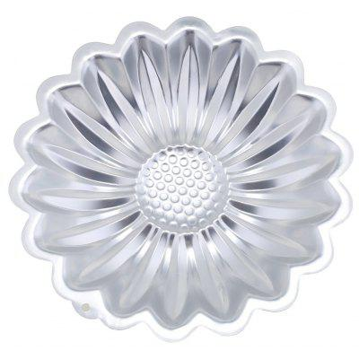 Cartoon Aluminum Alloy Sunflower Cake Cookie Mold