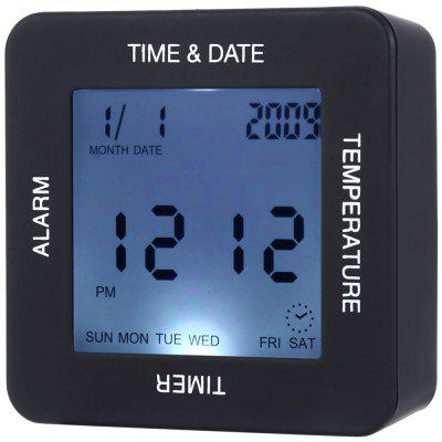 TS - BN65 Multifunctional Four-side Digital Rotate Clock