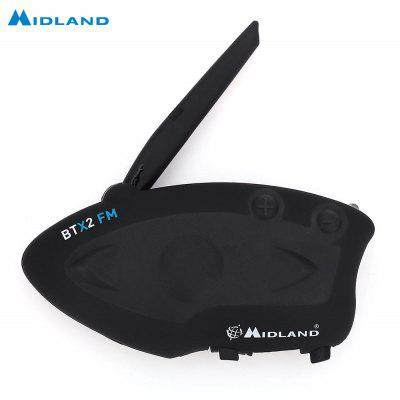 MIDLAND BTX2 FM Motorcycle Bluetooth Intercom