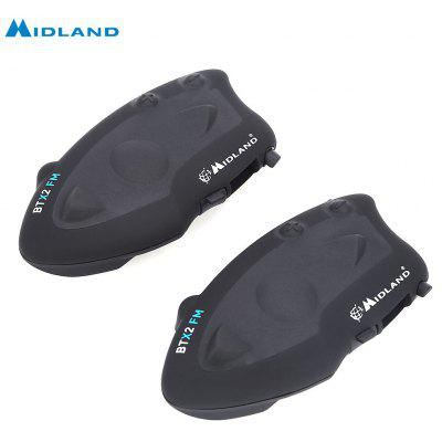 MIDLAND Paired BTX2 FM Motorcycle Bluetooth Intercom