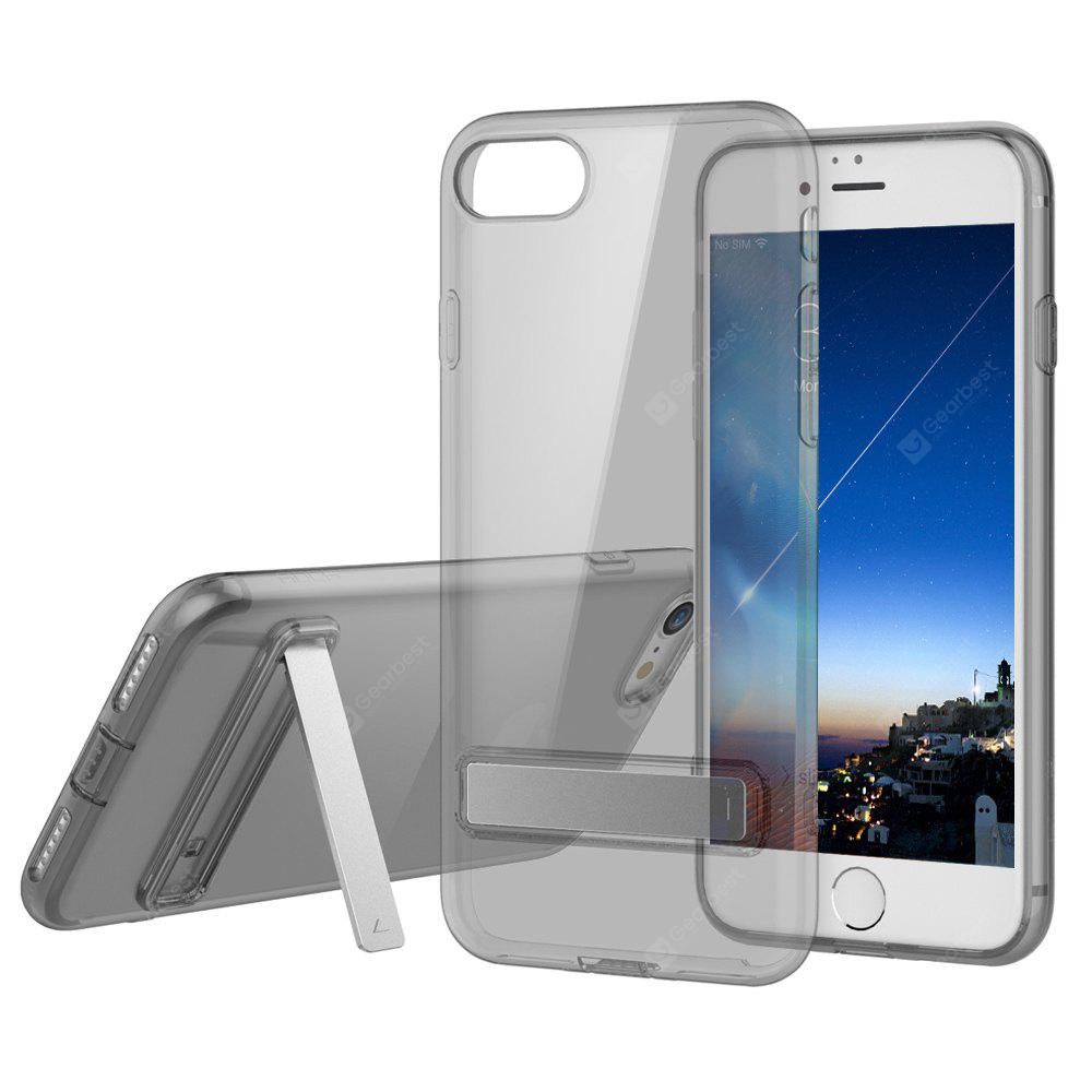 ROCK Ultra Thin TPU Slim with Kickstand Back Case for iPhone 7