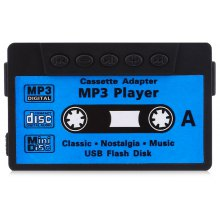 Stylish Cassette Style Portable MP3 Music Player