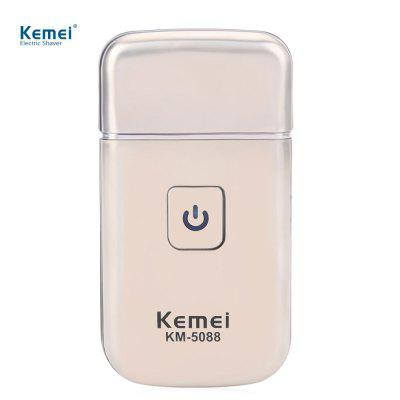 Kemei KM - 5088 Mini USB Rechargeable Electric Shaver for Men