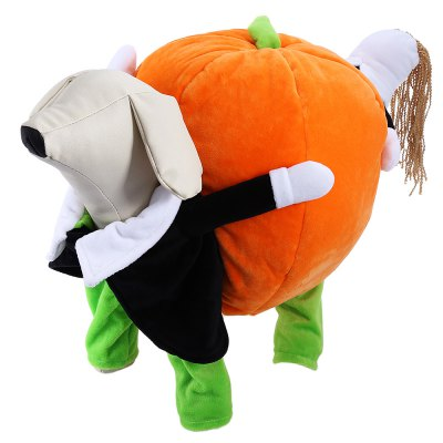 Halloween Pumpkin Dog Costume Clothes