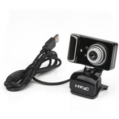 USB Webcam Rotatable Focus Angle PC Camera