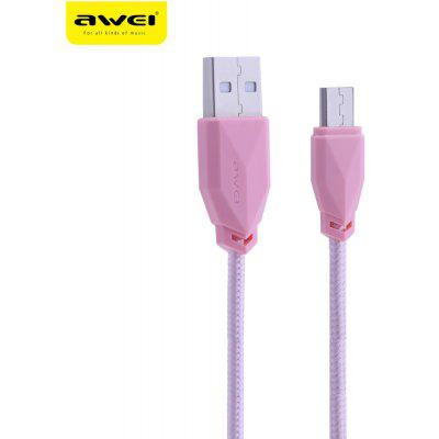 Awei CL - 982 1M Nylon Braided Micro USB Data Cable