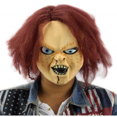 Horror Latex Mask for Child Play Chucky Action Figures Masquerade Halloween Party Bar Supply