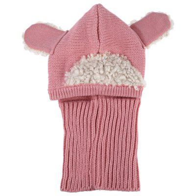 Children Adorable Animal Patchwork Hooded Cowl