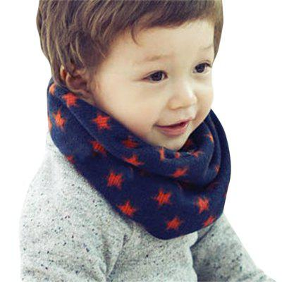 Allover Star Print Scarf for Children