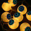 2M 20 LEDs Eyeball Halloween String Light - WARM WHITE LIGHT