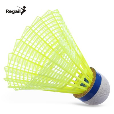 Regail 600 6pcs / Set Gym Training Nylon Shuttlecock