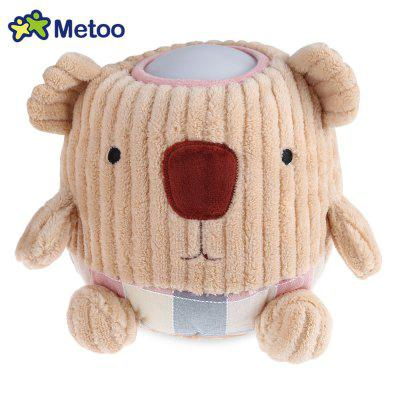 METOO Cute Cartoon Pattern Home Bedside Plush Pat Lamp