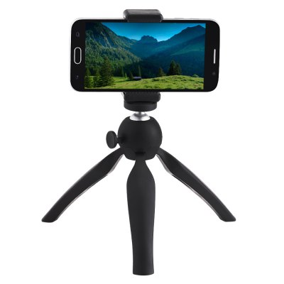 Mini 360 Rotation Tripod Mount Holder for Phone 5.5 inch