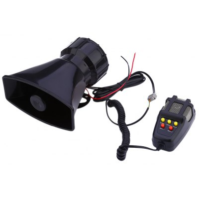 12V Loud Horn 5 Sounds Car Motorcycle Truck Speaker System