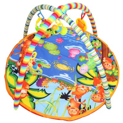 Baby Soft Cartoon Animal Play Mat Gym Blanket