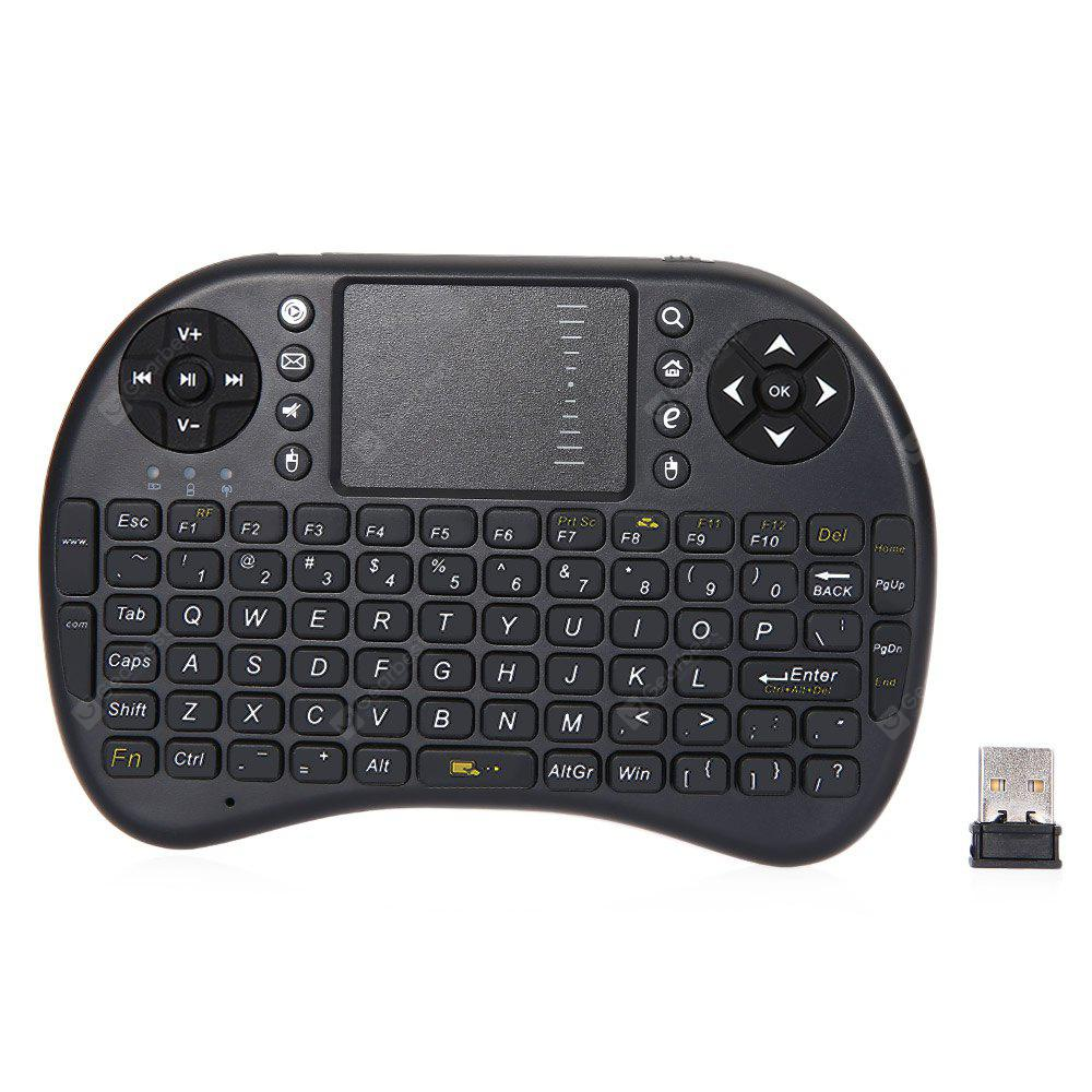 M2S 2.4GHz QWERTY Teclado Inalámbrico Touchpad