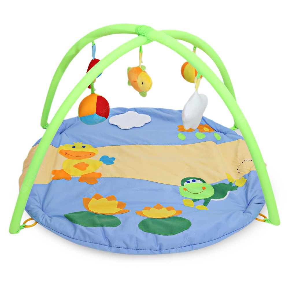 Baby Soft Play Mat Crawling Blanket COLORMIX