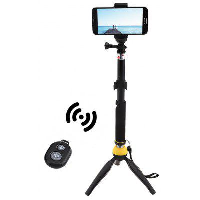 Mini Tripod Mount Selfie Stick Bluetooth Shutter Holder
