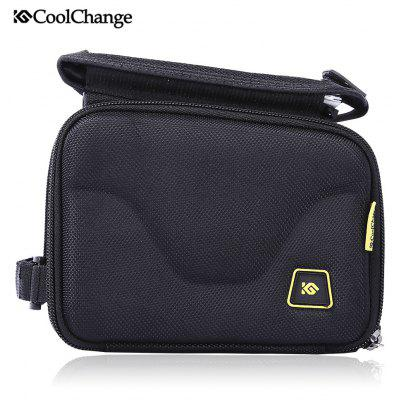 CoolChange 12011 Bicycle 5 inch Screen Touch Front Tube Bag