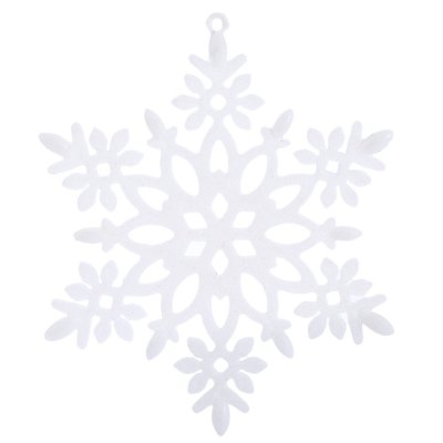 Christmas Snowflake Decorating Ornaments