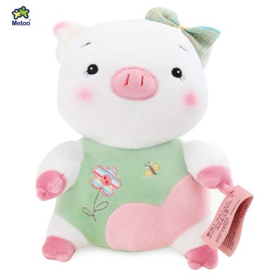Metoo Little Pig Plush Doll Toy for Baby