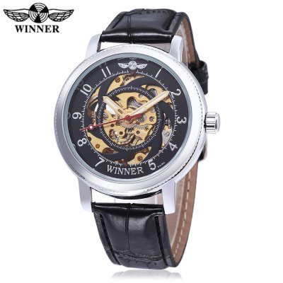 WINNER W111801 Male Auto Mechanical Watch