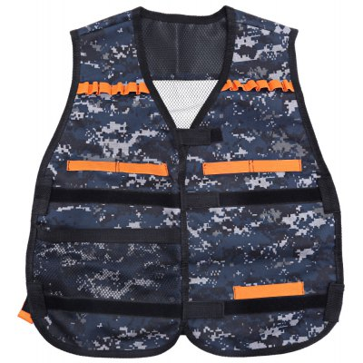 Kids Adjustable Tactical Vest with Storage Pocket