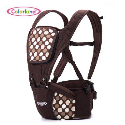 Colorland Printed Baby Waist Stool with Mesh Bag