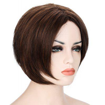 Short Anti-alice Brown Wigs