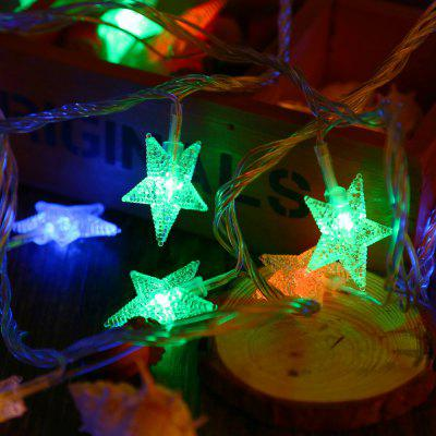 5M 50 LEDs 3W 8 Modes Star String Fairy Light