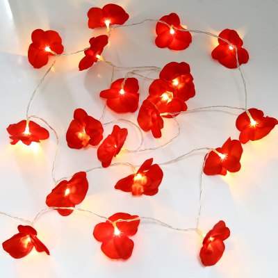 4M 20 LEDs USB Flower Fairy String Light