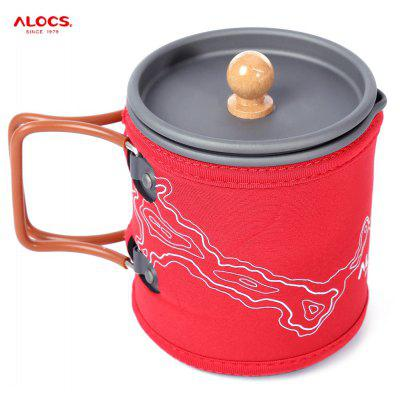 ALOCS CW - K13 600ML Portable Coffee Pot Kettle Set