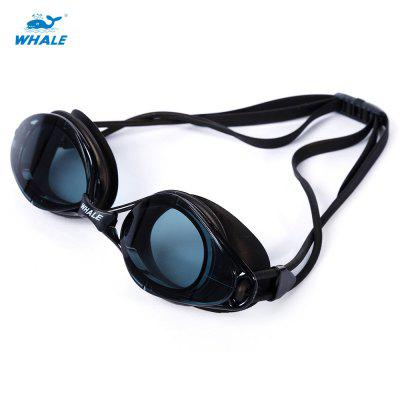 WHALE Adult Anti Fog Water Resistant Swimming Goggles with Box