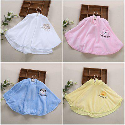 Chic Sleeveless Soft Pure Color Print Children Cloak от GearBest.com INT