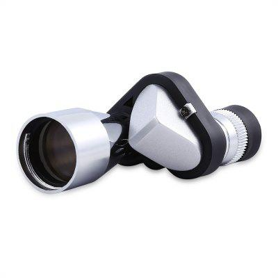 Buy SILVER Portable Multifunction Mini Monocular Telescope for $5.77 in GearBest store