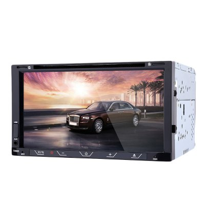 7080B 7 inch Car Audio DVD Player