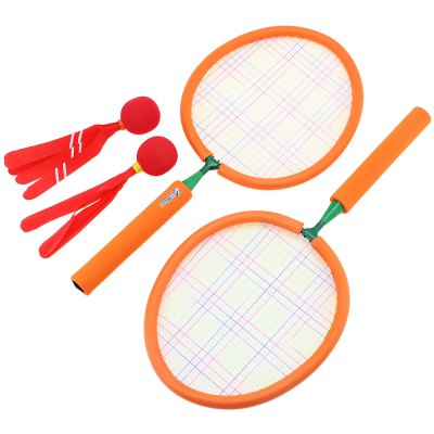 WTWY Kids Colorful Badminton Racket Set Outdoor Sports Game